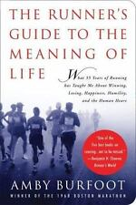 The Runner's Guide to the Meaning of Life, Burfoot, Amby, Good Book