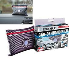 Car dehumidifier reusable dash demister bag wind screen damp moisture absorbing