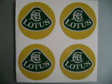 4x 40 mm fits lotus wheel STICKERS center badge centre trim cap hub alloy ye