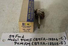 59 1959 Ford NOS radio Volume control for model 94MF radio
