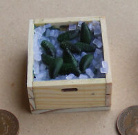 1:12 Loose Mussels (10) In A Crate With Ice Dolls House Miniature Food Accessory