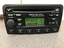 Ford Fiesta Mondeo Focus Transit Cd radio stereo CD player 6000 Rds Eon + Code