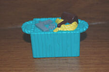 FISHER PRICE LITTLE PEOPLE NOAH'S ARK TOOL CHEST Green CRATE Replacement Part