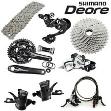 2016 Shimano Deore M610 Hydraulic Disc Brake Groupset Group set 3x10-speed