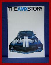 1968 American Motors AMX STORY Color Sales Brochure - New Old Stock