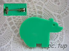 Gadget Miniature Tupperware : Badge / Épinglette / Pin's  - Ours vert