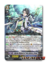 Cardfight Vanguard  x 4 Marine General of Twin Bullets, Cretas - G-BT09/041EN -