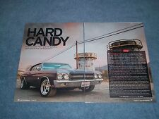 """1970 Chevelle SS RestoMod Article """"Hard Candy"""" Super Sport"""