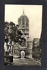 TOM TOWER, CHRIST CHURCH, OXFORD. REAL PHOTO POSTCARD BY SALMON. POSTED 1961