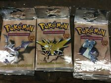FOSSIL series Pokemon 1999(unopened) rare find ,Who  knows what's in side