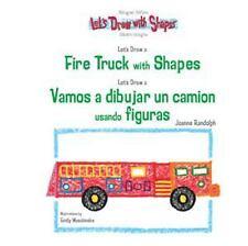 Let's Draw A Fire Truck With Shapes  Vamos A Dibujar Un Camion De Bomberos Usand