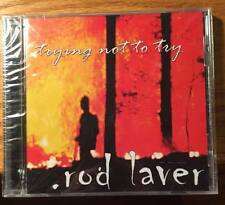 Trying Not To Try by Rod Laver (CD, 2000, Screaming Giant) - Rock, Brand New/SS!
