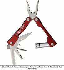 Swiss Tech 8-in-1 Mini Multi Tool Kit