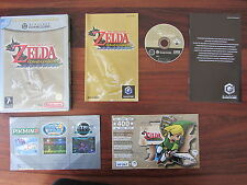 THE LEGEND OF ZELDA  :  THE WIND WAKER    + carte vip   -----   pour GAMECUBE