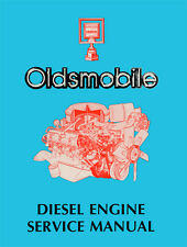 1978 Oldsmobile 5.7L Diesel Engine Shop Manual 78 Olds 88 98 Repair Ninety Eight