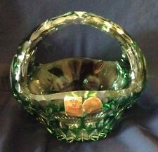 NACHTMANN Crystal Handle Basket Made in Germany
