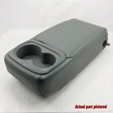 99-03 Acura TL Rear Arm Rest  Armrest Cup Holder OEM Leather GRAY