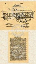 US Patent for the Orville/Wilbur WRIGHT BROTHERS AIRPLANE Flyer #003.7