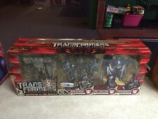 2007 Transformers Revenge of the Fallen Gathering at the Nemesis TRU Figure Set