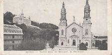 B77736 quebec sainte anne de beaupre la basilique  canada scan front/back image