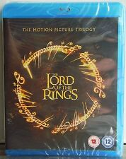 THE LORD OF THE RINGS - TRILOGY - BLU RAY - NEW &SEALED