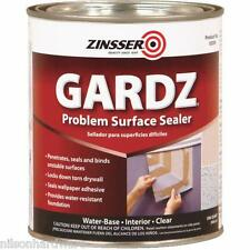 6 Qt Zinsser Gardz Water - Base Repair Restore Damaged Drywall Sealer Z2304