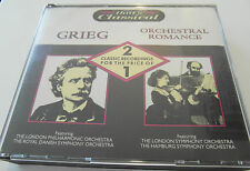 That's Classical - Grieg & Orchestral Romance (2 x CD Album) - Used very good