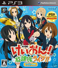 Used PS3 K-ON Houkago Live HD Ver. Japan import
