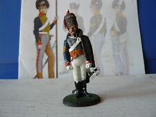 DELPRADO NAPOLEON 1er EMPIRE N° 93 SERGENT MAJOR , 15 ème HUSSARDS GB EN 1808
