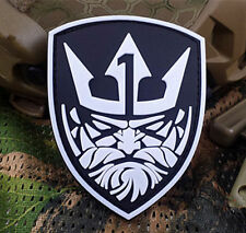 GLOW MEDAL OF HONOR 3D MOH KING NEPTUNE  TACTICAL AIRSOFT 3D PVC  PATCH