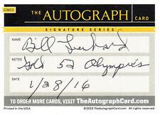 Bill Lienhard (USA) 1.OS Helsinki 1952 Basketball USA orig.signiert/signed !!!