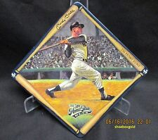 MICKEY MANTLE, Collector Plate titled Mickey Mantle, New York Yankees