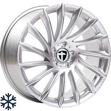 "4x Tomason TN16 7,5x17"" 5x112 ET37 ML66,6 bright silver Audi Seat Skoda VW"