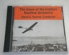 David E Bourne DAWN OF THE CENTURY RAGTIME ORCHESTRA Brand NEW Factory Sealed CD
