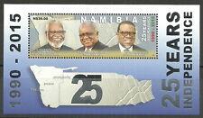 Namibie - 25 ans d'indépendance bloc 88 cachet 2015 mi.1505 a