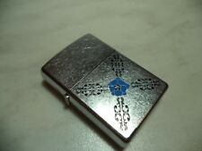 ZIPPO ACCENDINO LIGHTER FLOATING FLOWERS  RARE NEW + INSERTO JET FLAME NEW