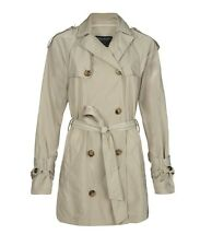 Bnwt ALL SAINTS FLAVA beige trench coat rrp £ 195 ALLSAINTS taille 14 économisez plus de 50%