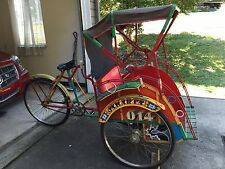 Vintage Indonesian Bike Rickshaw or Trishaw   Priced reduced $400