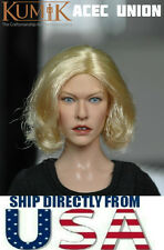 KUMIK Milla Jovovich 1/6 Head Sculpt For Hot Toys Phicen Female Body U.S. SELLER