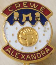 Crewe alexandra vintage badge maker coffer london broche épingle en doré 20mm x 25mm