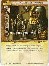 Warhammer Invasion - 1x Öffne die Rüstkammer  #090 - Die Horde des Ruins
