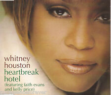 WHITNEY HOUSTON - Heartbreak Hotel (ft EVANS/PRICE) (UK 4 Tk CD Single)