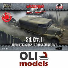 1/72 Sd.Kfz.11 German Half-Track Prime Mover - First to Fight 041