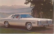 Cadillac Coupe De Ville for 1977 original USA issued Postcard