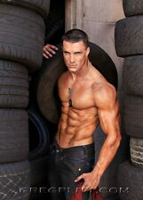 "026 Greg Plitt - American Fitness Model Actor 14""x19"" Poster"