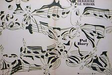 Derriere le Miroir. POL Bury no 209. 7 Original Color litografías. 1974.