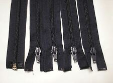 "5 - 19"" Navy Blue # 5 Separating Coil Zippers Lot #1000"
