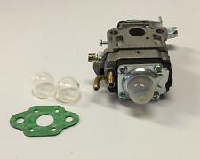 NEW CARBURETOR 11MM 33CC 36CC WITH GASKET AND 2 BULBS GAS SCOOTER POCKET BIKE
