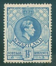 [JSC]1938 SWAZILAND ~GEORGE VI~#SC29 A3~ LIGHT BLUE