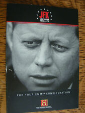 JFK A Presidency Revealed Emmy dvd History Ch John F Kennedy 3hour documentary